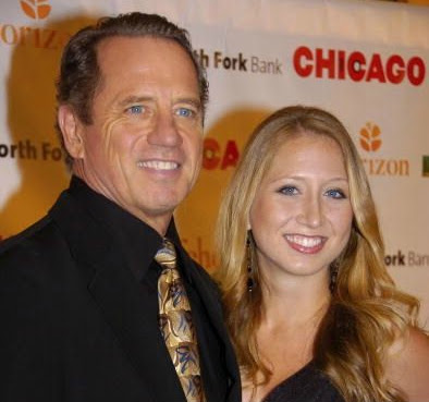 Kathy Wopat's husband Tom with their daughter