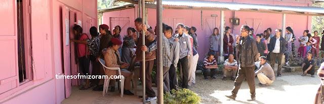 Mizoram Polls Today