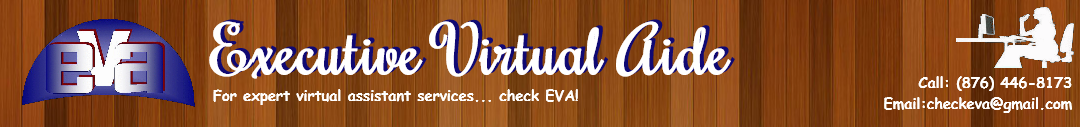 Executive Virtual Aide (EVA)