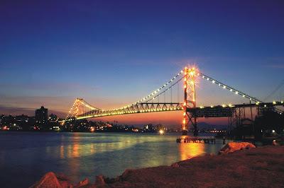 Ponte Hercilio Luz ao vivo