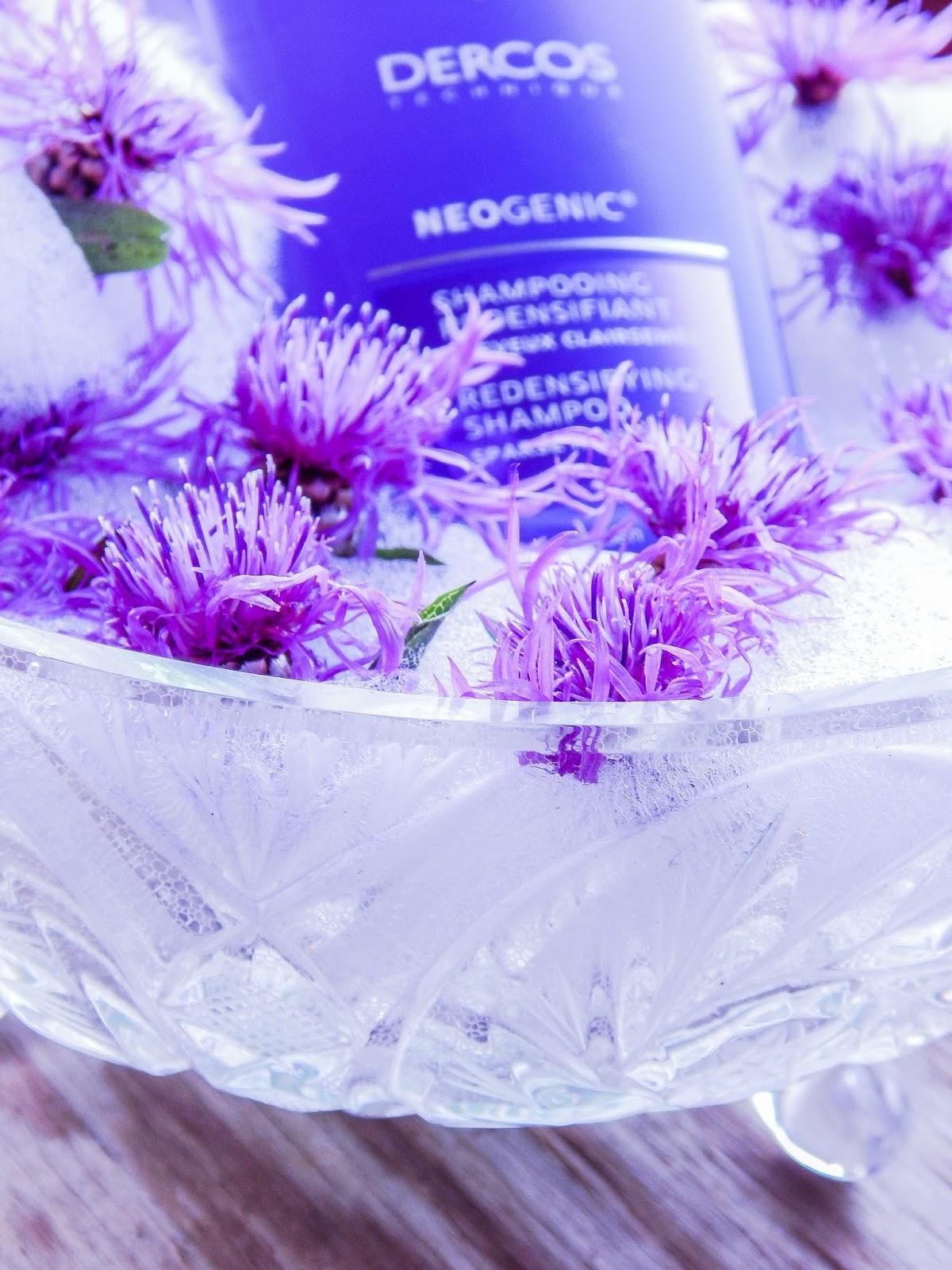 4 vichy laboratories dercos technique neogenic szampon unoszący i zagęszczający włosy recenzja opinie blog beauty lifestyle melodylaniella blogerki z łodzi blogerki łódzkie urodowe włosowe
