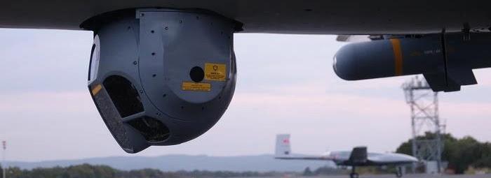 Туреччина випробовує власну оптико-електронну систему для БпЛА Bayraktar TB2