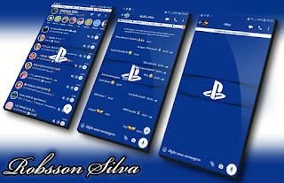 Play Station Theme For YOWhatsApp & KM WhatsApp By Robsson