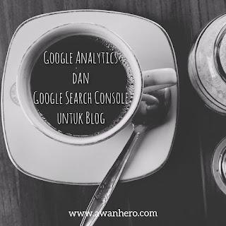 google analytics, google search console