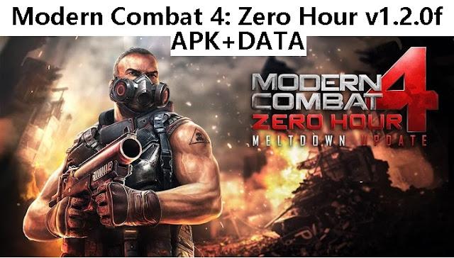 Modern Combat 4: Zero Hour v1.2.0f APK