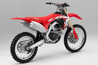 Honda CRF250R (2018) Rear Side