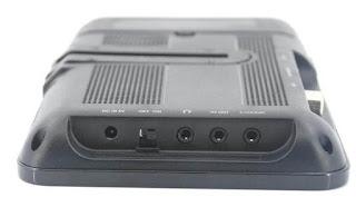 7 inch portable dvb-t cofdm receiver