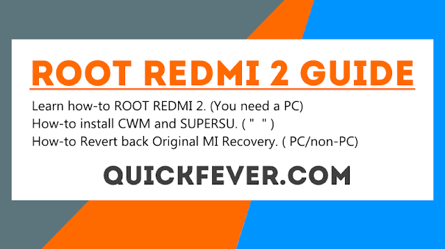root redmi 2 guide