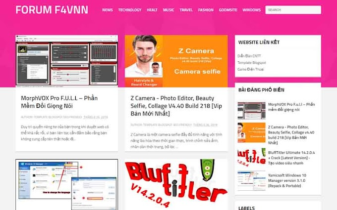 Goo AMP - Blogger Template Responsive And Seo Ready
