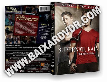 Supernatural – 6ª Temporada Completa (2006) DVD-R OFICIAL