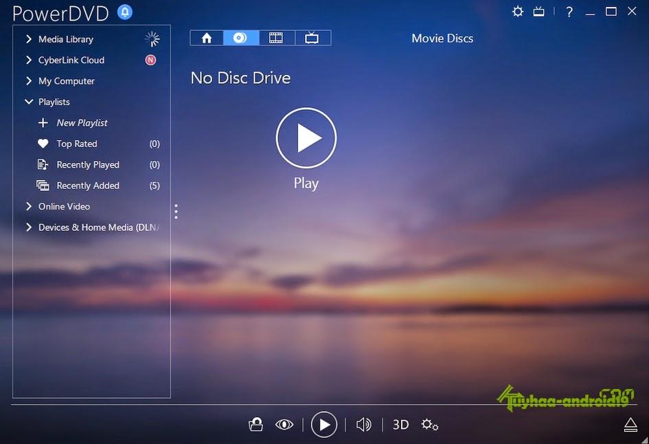 CyberLink PowerDVD Ultra Terbaru 2017 16.0.2011.60