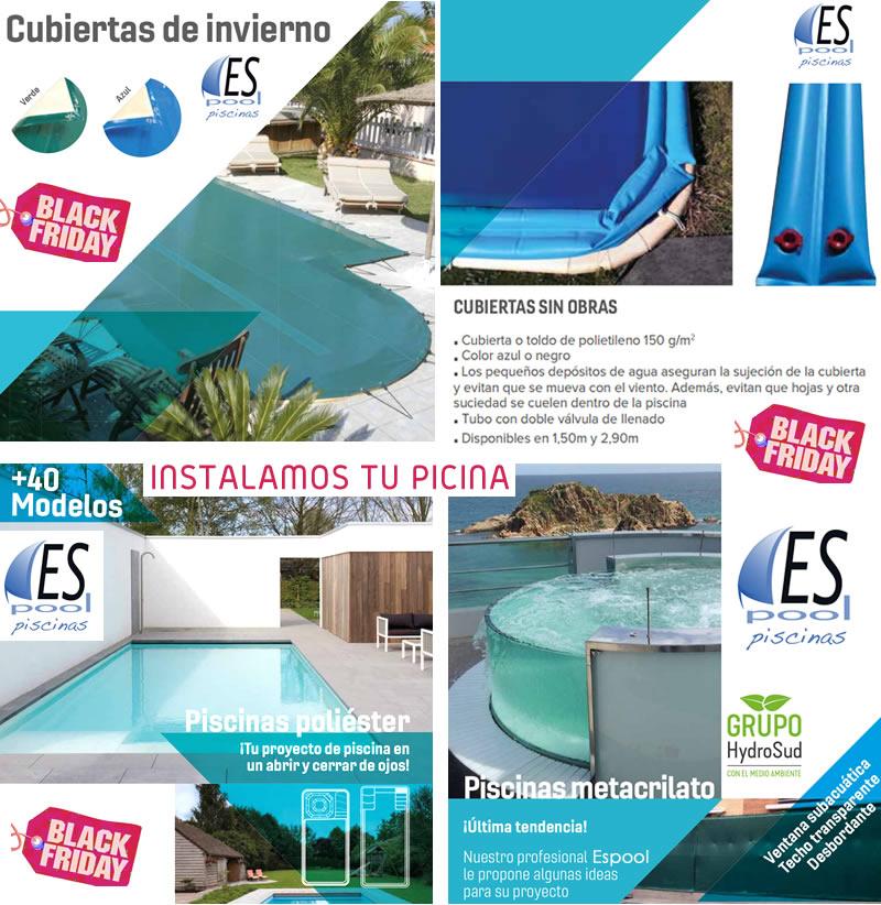 Invernaje de piscinas en Guadalajara con Espool Piscinas - Aprovecha nuestro Black Friday