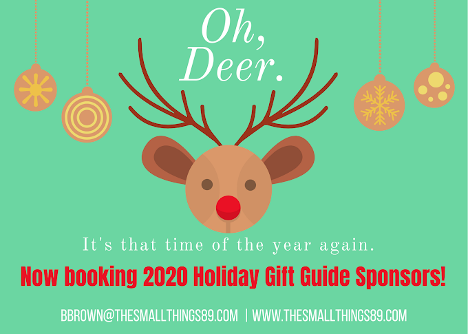 Now BOOKING for the 2020 Holiday Gift Guide