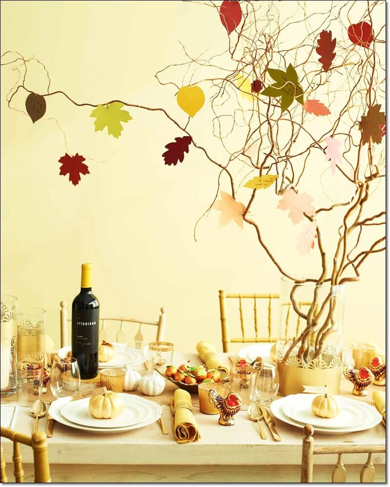 Thanksgiving Table Decorating, Party Decor Ideas