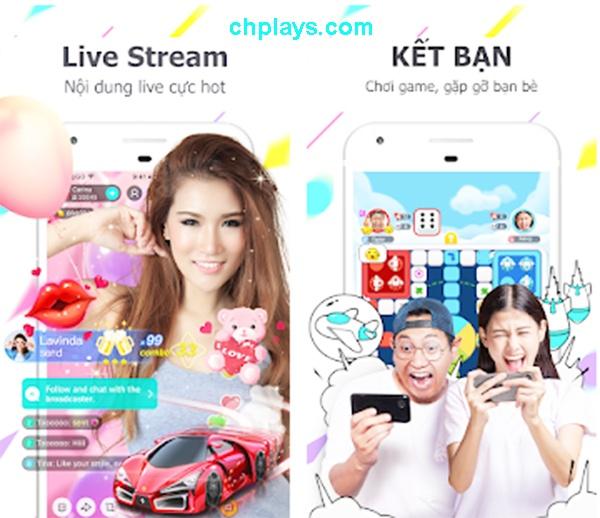 Tải BIGO LIVE, Phát video trực tiếp cho máy Android trên Web, APP e