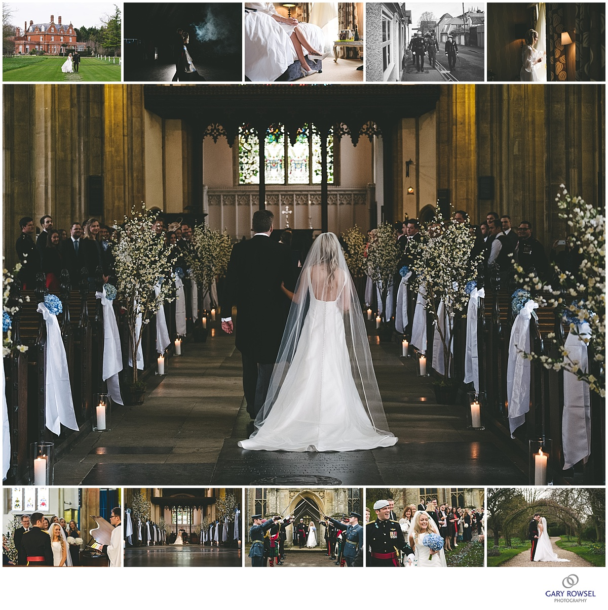 Karina & Nathan\'s Wedding at St Mary\'s Church, Bury St Edmunds and ...