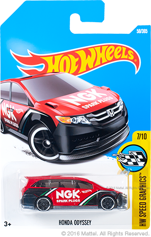 Hot Wheels Honda Odyssey Kmart first to market