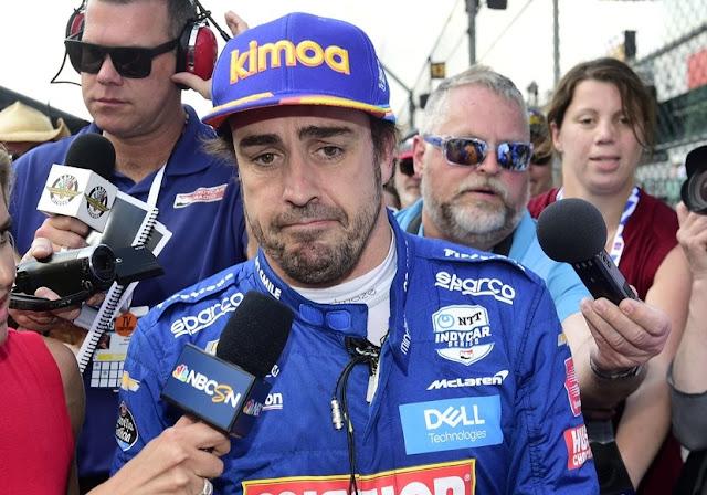 Fernando alonso Bump Day