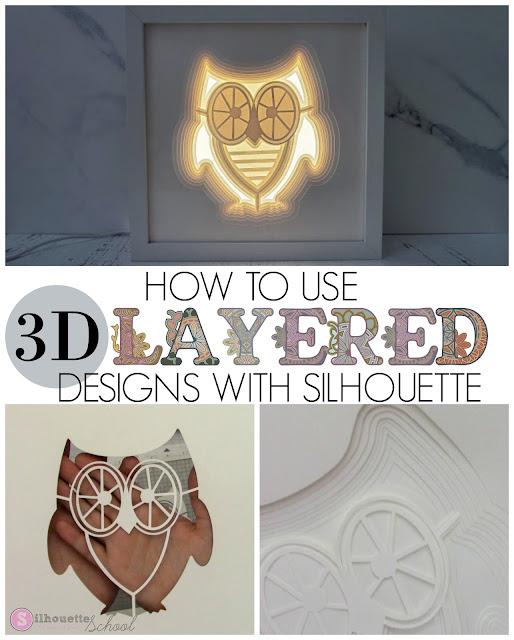 silhouette 101, silhouette america blog, paper projects, cameo 4, advanced silhouette studio tutorials