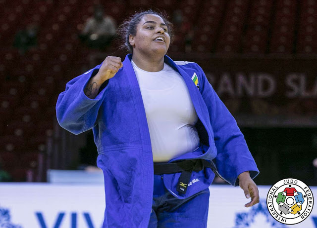 Maria Suelen Altheman brasil judo rochele nunes