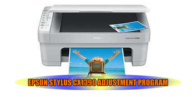 Epson Stylus CX1390 Printer Adjustment Program
