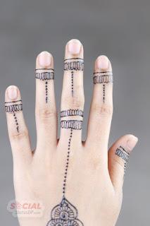 Bridal Modern Mehndi Designs