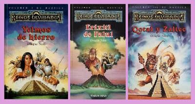 Reseña de los libros de fantasía de la Trilogía Maztica