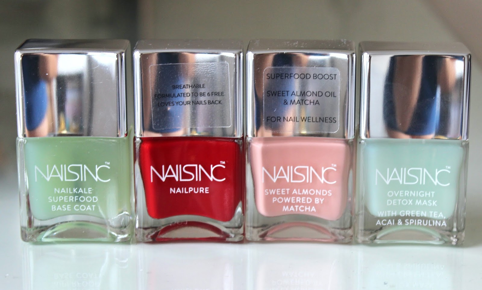 BEAUTY & LE CHIC: SUPER Goodness and Seriously HOT Shades from Nails Inc