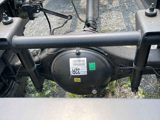 Cầu xe Hyundai 110XL thùng bạt