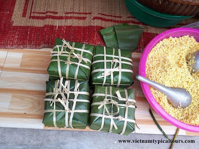 """""""Bánh Chưng"""" Recipe For Lunar New Year At Vietnam 1"""