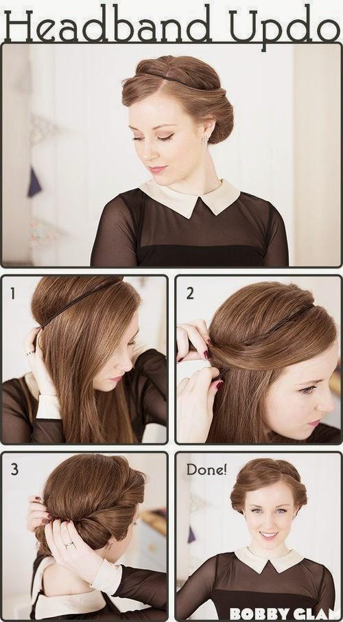 Tutorial Menata Rambut Panjang Dan Pendek Secara Mudah 9