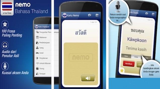 Aplikasi Belajar Bahasa Thailand