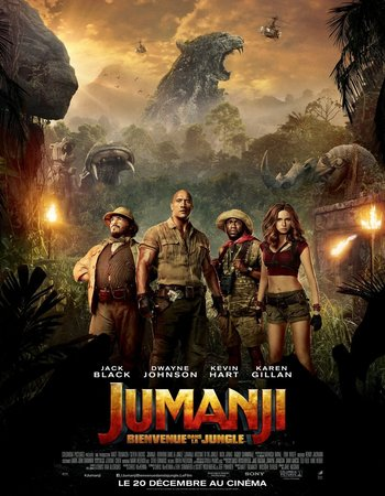Jumanji Welcome to the Jungle (2017) English HDTS 720p