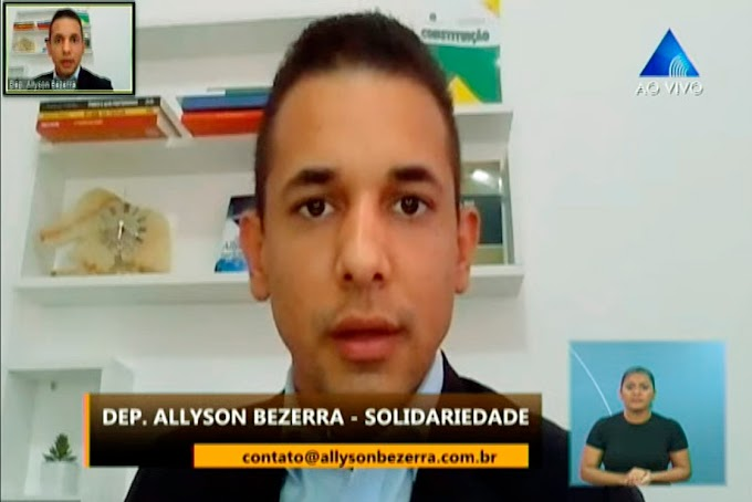 Allyson solicita ao DER limpeza das margens da RN-013 que liga Mossoró a Tibau