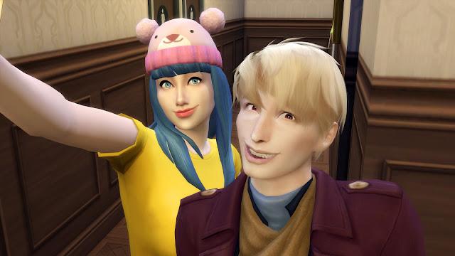 Sims 4 Miwa Kasumi and Moriarty
