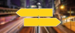 cartello indicazioni stradali