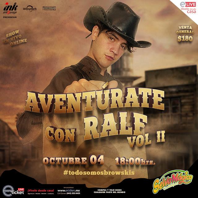 """Ralf presentará su segunda aventura """"Aventurate con Ralf Vol II"""""""