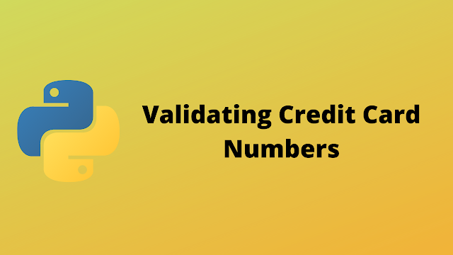 HackerRank Validating Credit Card Numbers solution in python