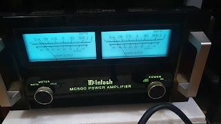 Mcintosh MC500 power amp (Sold) IMG-20210826-WA0131