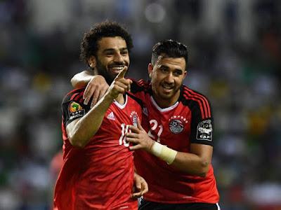 مشاهدة مباراة  مصر و غينيا بث مباشر اليوم الاحد 16/06/2019 مباراة ودية