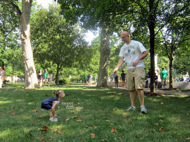 Favorite Notre Dame Football Traditions for Kids and Families - www.sweetlittleonesblog.com