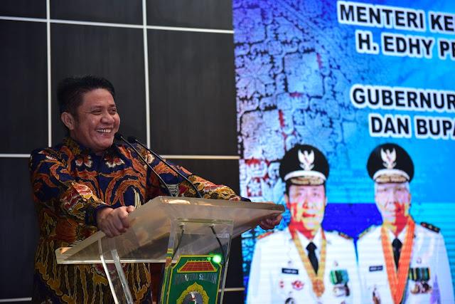 Herman Deru Yakin Menteri KKP  Prioritaskan Sumsel