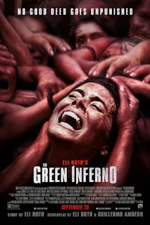 The green inferno - visione cinematografica