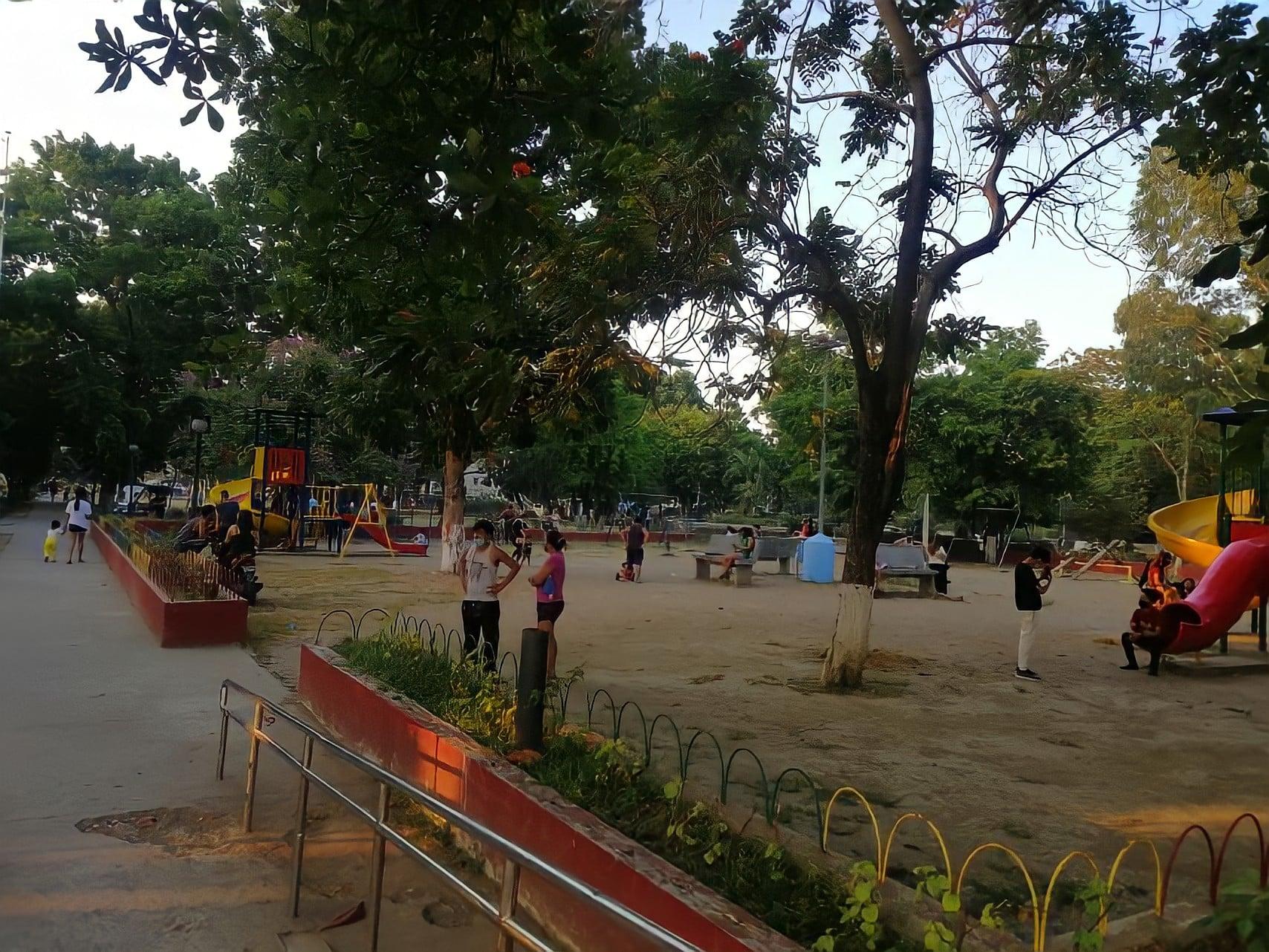 Samonte Park in Cavite City