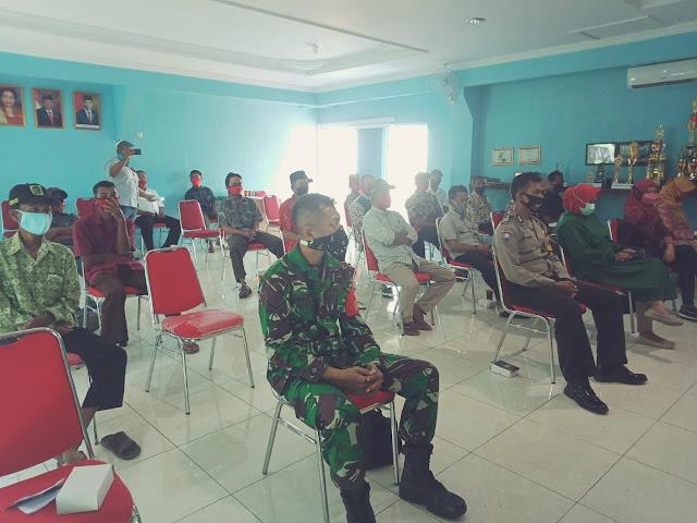 Babinsa Koramil Juwiring Hadiri Musyawarah Desa