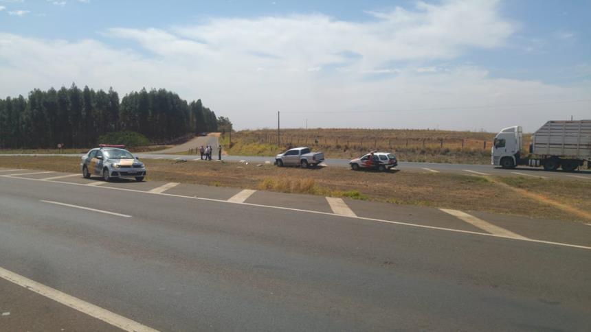 Ciclista morre em acidente no trevo de Severínia