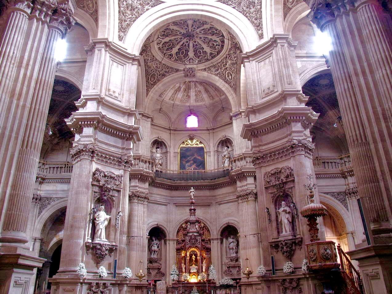 La Granada de Luneta: Iglesia del Sagrario de la Catedral de Granada.