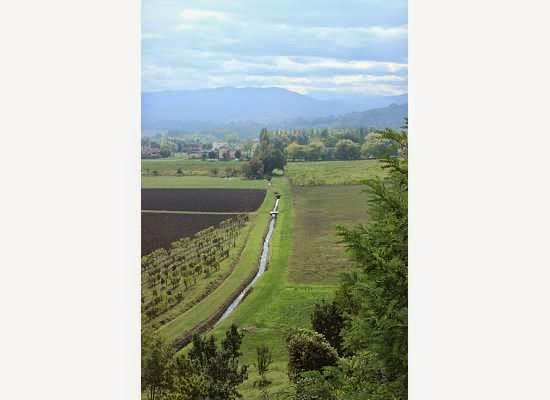 Irrigation canals in Emilia Romagna