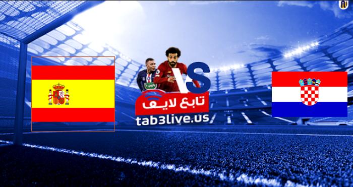 نتيجة مباراة اسبانيا وكرواتيا اليوم 2021/06/28 الأمم الأوروبيه