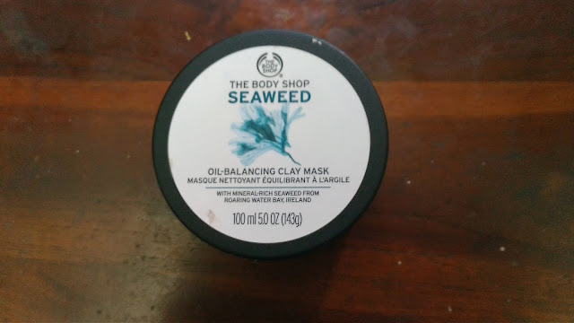 Review The Body Shop Seaweed Oil Balancing Clay Mask Bahasa Indonesia